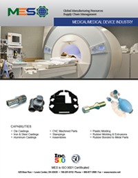 Medical Industry Manufacturing