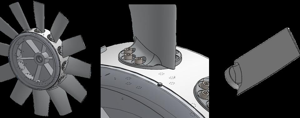 Impeller Blade Casting
