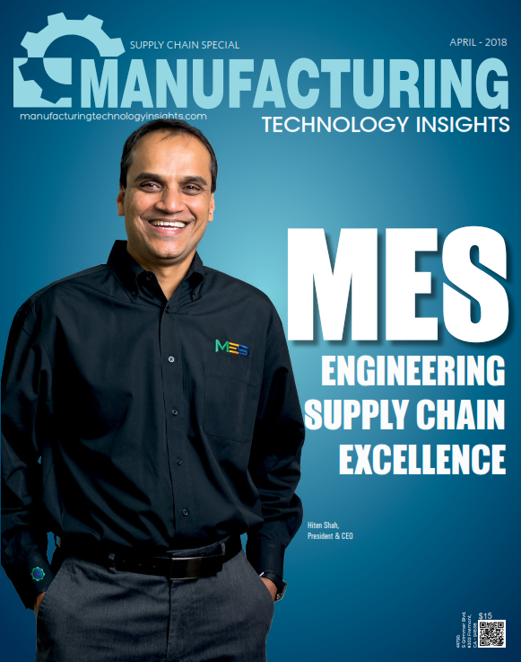 MES recognized as top 10 supply chain management providers